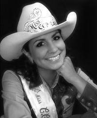 2008 Miss Folsom Pro Rodeo, Lydia Leanos